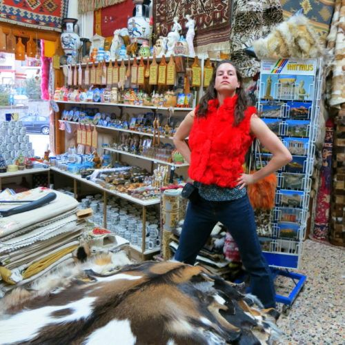 How did this scene from a store in Greece happen? Read on.