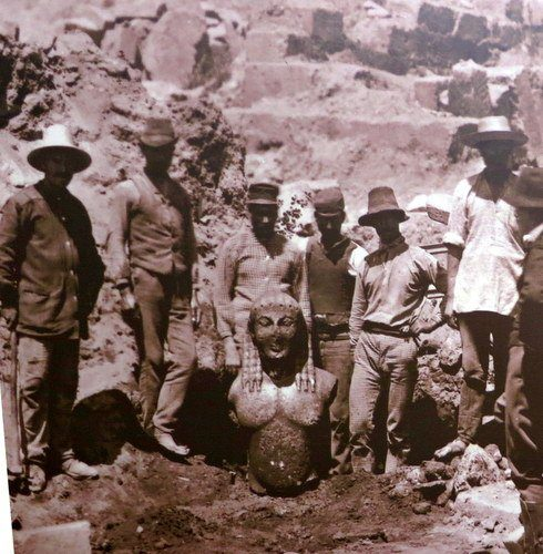 The team that found Delphi's ruins. Can you imagine?!