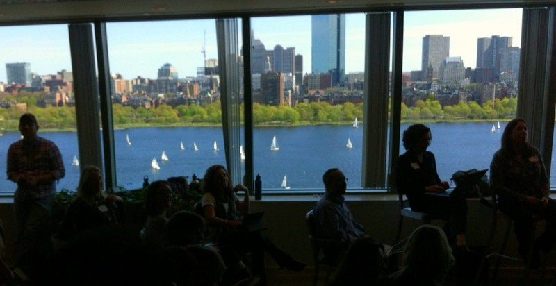 The view from the Microsoft NERD Center is beautiful!