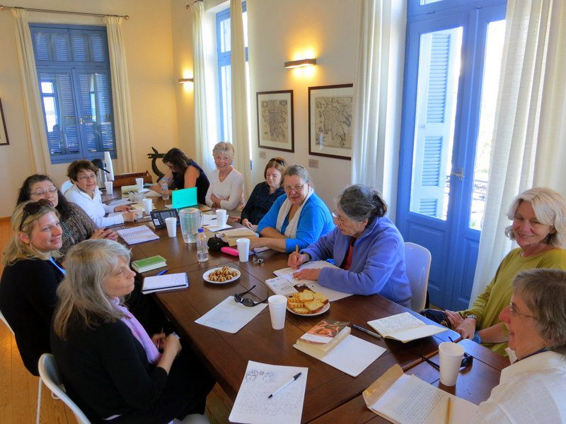 We had a phenomenal writing workshop in the Harvard Center for Hellenic Studies.
