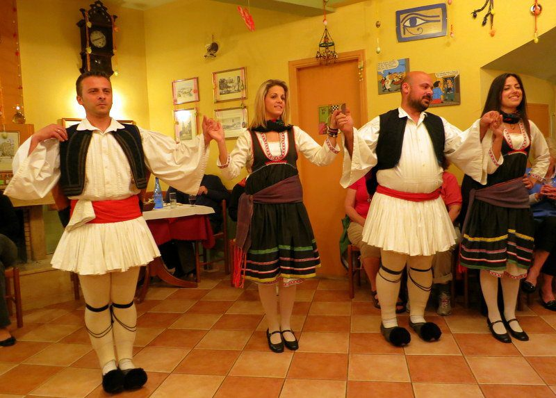 We love your style and flair, traditional Greek dancers!