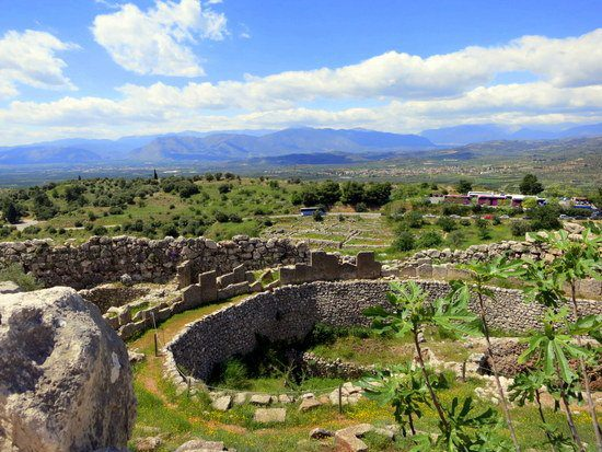 These walls in Mycenae, Greece hold history, as does my name.