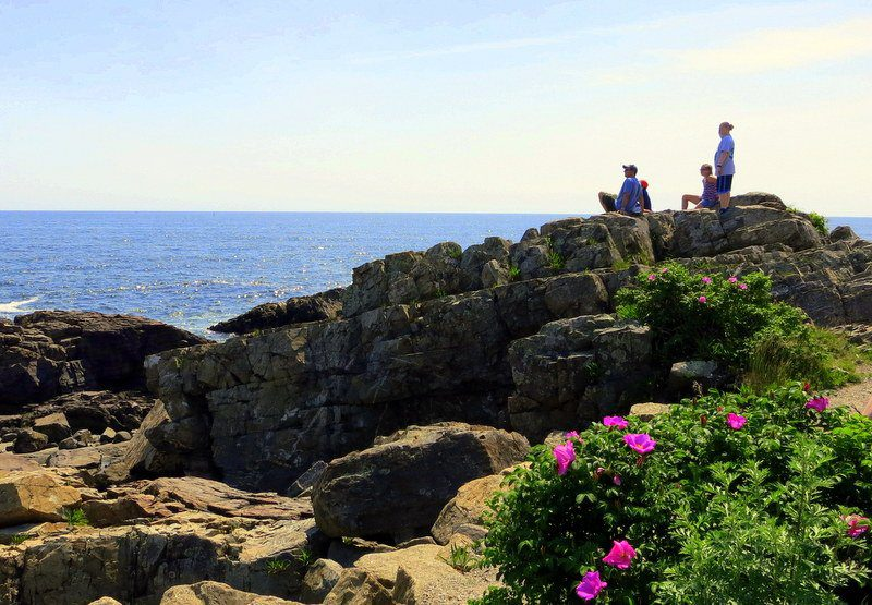 One of the great seaside views along Marginal Way in Ogunquit.