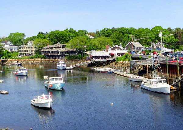 We ate a ridiculous amount of lobster at that Ogunquit restaurant.