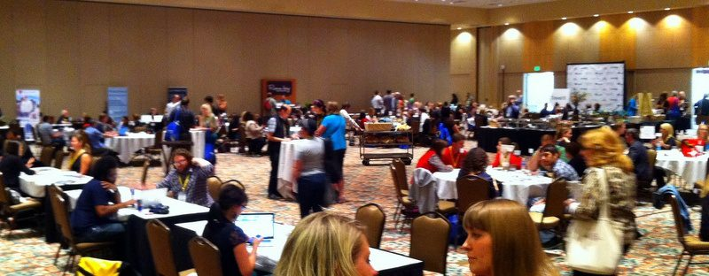 "Formal ""speed dating"" sessions between bloggers and travel companies."