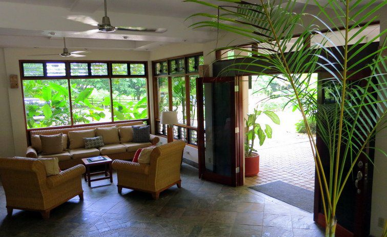 The front lobby of Ka'ana resort welcomed us with open arms to San Ignacio, Belize!