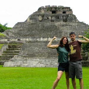 Great Mayan Ruins by San Ignacio, Belize: Xunantunich