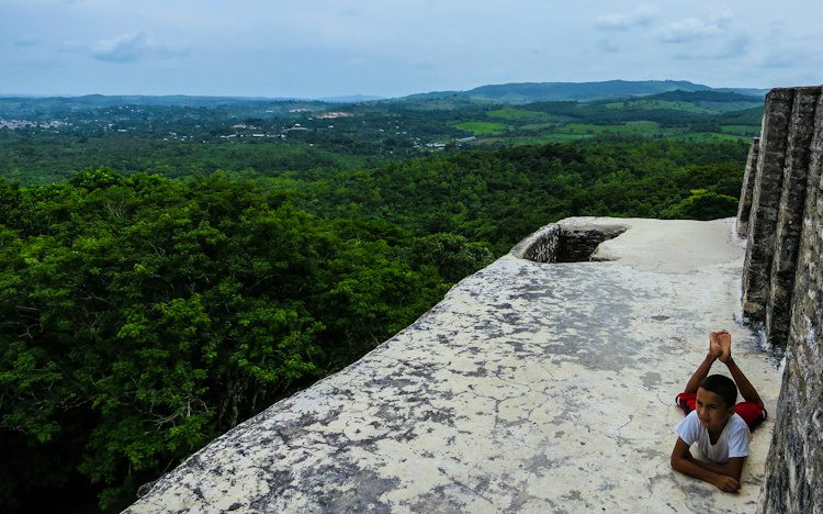 Does this spot look tempting to you? Travel to the Xunantunich Mayan Ruins in San Ignacio in western Belize!
