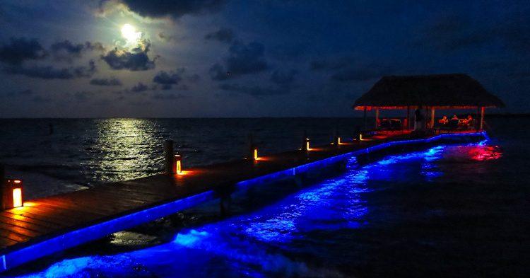 Chabil Mar pier Placencia, Belize