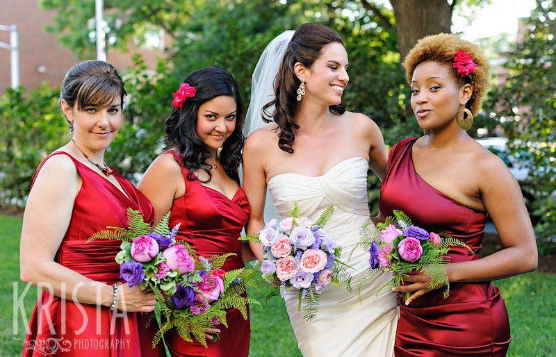 Such beautiful Bridesmaids! My best friends for over a decade.
