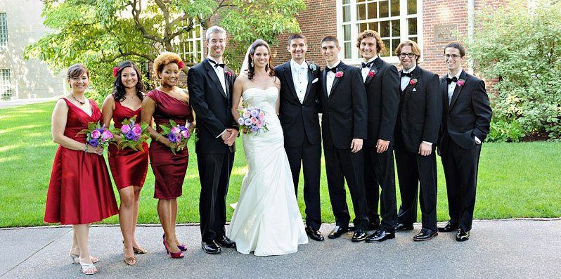 Our fabulous wedding party, as photographed by Krista Photography!
