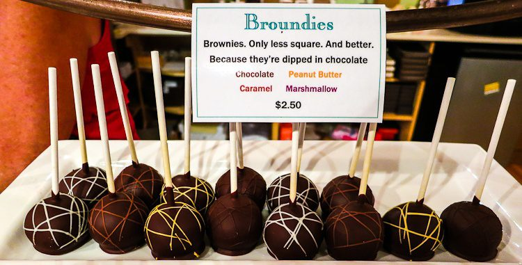 Hilarious. True, everything is better when round and dipped in chocolate. Even homework.