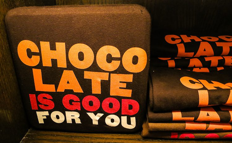 Chocolate is good for you shirt