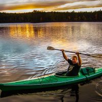 Autumn Leaves, Unplugging, and Living on a Pond Raft