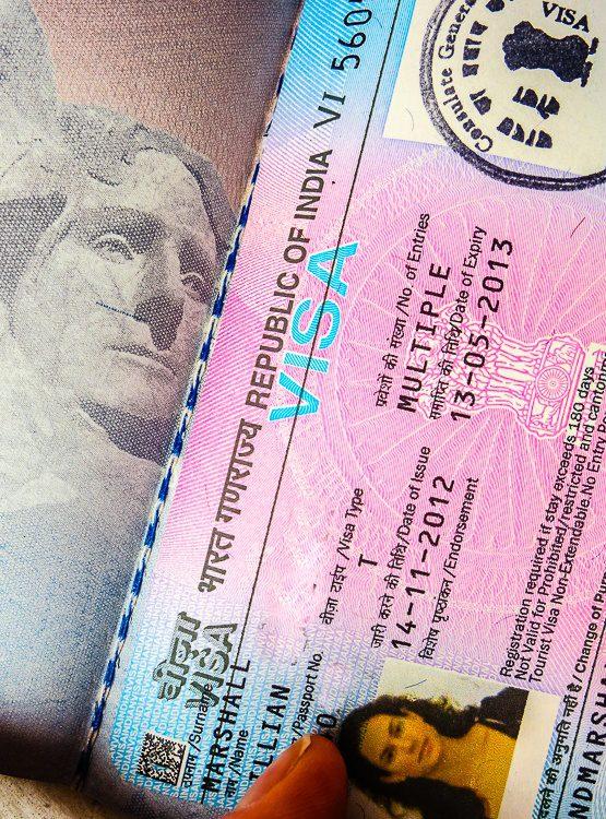 My India travel visa at last!