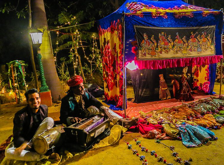 After the dance, puppeteers took the stage in Jaipur. What will take the stage for 2013?