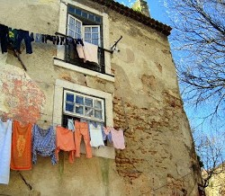 In Praise of Airing Your Laundry, in Portugal and in Life