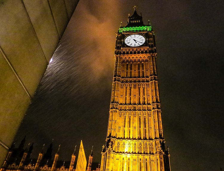 If you plan your London layover right, you can see Big Ben and still catch your flight!