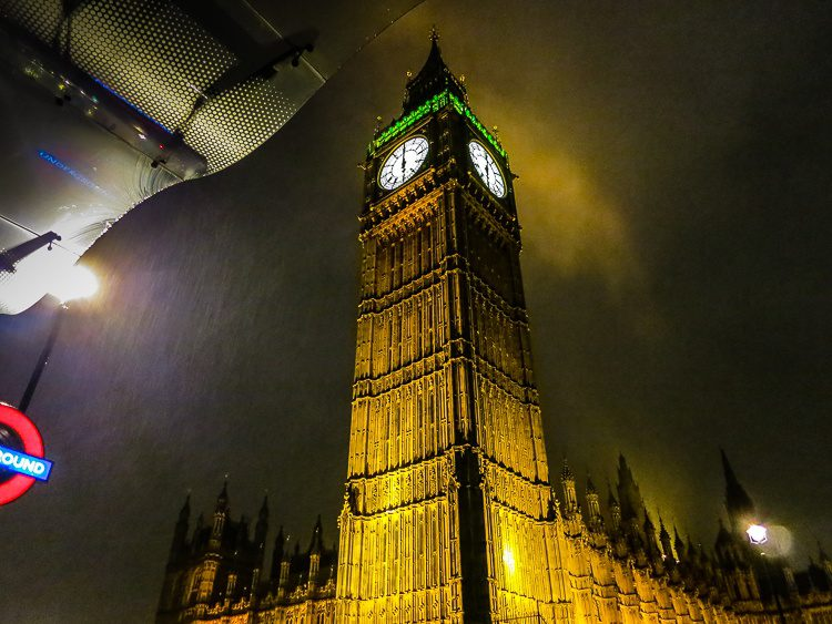 Big Ben does not disappoint.