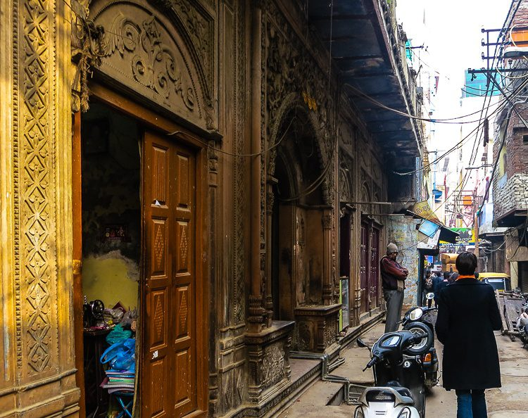 Some of the residential doorways in India are so ornate!