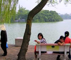 Loving Hanoi's Hoan Kiem Lake