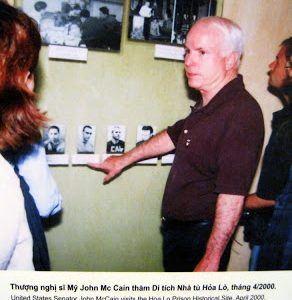 John McCain's Hanoi Prison, Today!