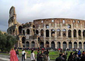 Nine Years Ago on this Bridge in Rome…