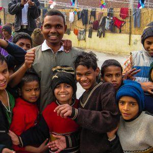 Dancing With Street Children in New Delhi, India. Video!