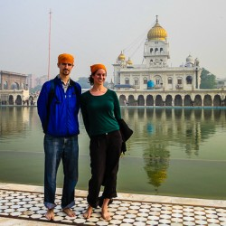 A Sikh Temple in New Delhi, and Neat Facts on Sikhism