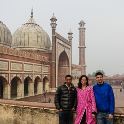 We Spent Christmas at the Largest Mosque in India!