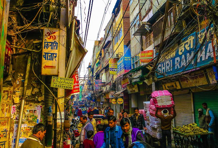 You could stare at this Old Delhi scene all day and still see new things.