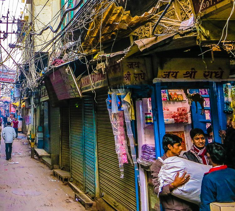 What conversations must go on in Old Delhi...