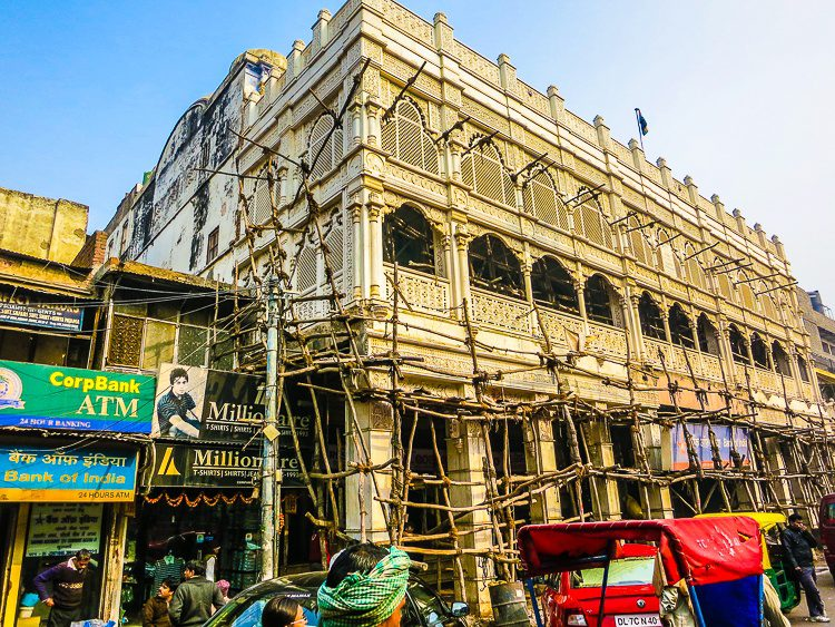 Like this natural scaffolding? We saw it all over India.