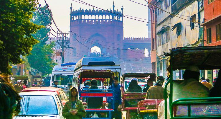 The structures of Old Delhi date back to the 1600s!