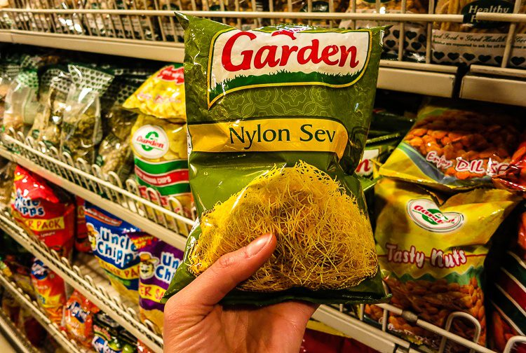 "Want to eat some nylon? And what is ""sev""?"