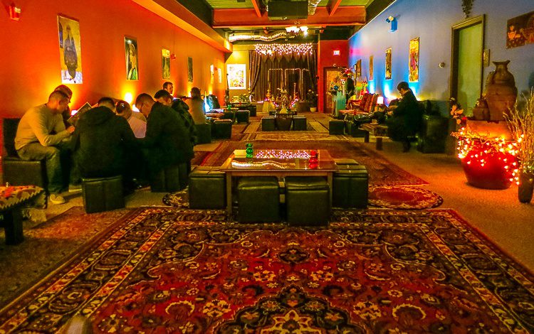 Genie's Lounge brings Newport romantic Middle Eastern flair.