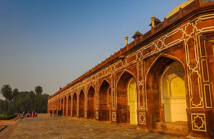 Such intricate architecture at Humayun's Tomb.