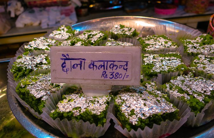 Silver-coated desserts? Yes please, India.