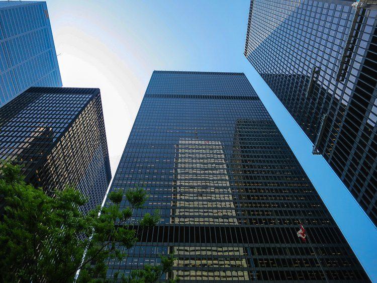 The famous Toronto Dominion Center.