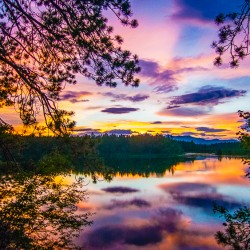 3 Stunning Lake Sunsets in 3 New Hampshire Days