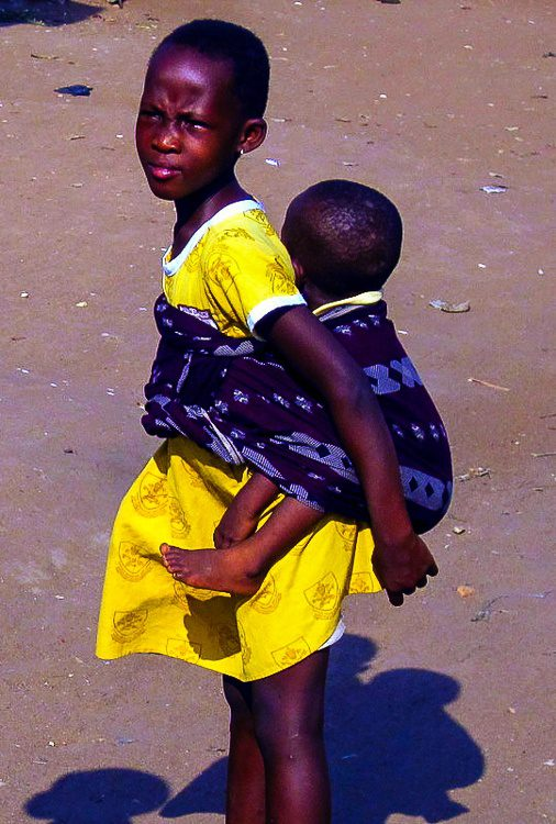 The survive the heat in West Africa, you need to move with it.