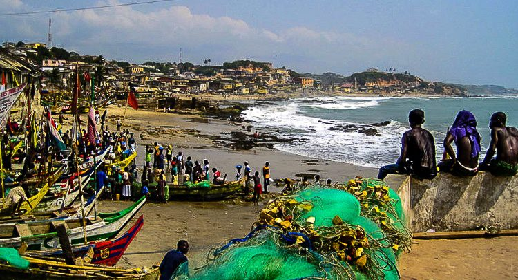 Can you feel the sweat in this Cape Coast, Ghana photo?
