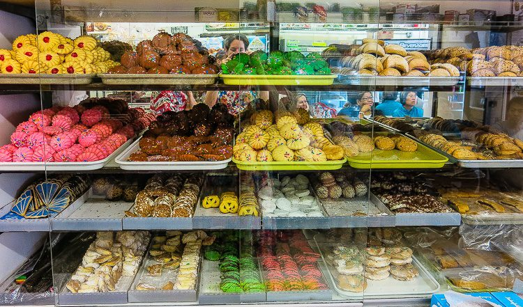 Delicious Italian pastries beckon you in Boston's North End.