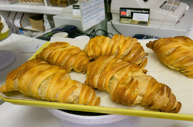 These flaky pastries were unbelievably good.