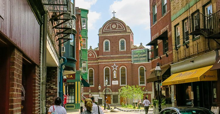 Boston's North End has some charming streets.