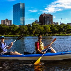 Kayaking: A Great Way to Tour a River City Like Boston!
