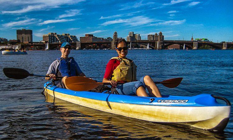 "The ""Pepper Pot Bridge"" was a delightful boating backdrop."