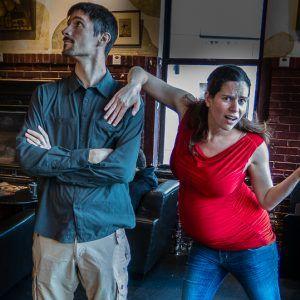 Pick-Pocket Proof Pants and Shirt Foil Pregnant Thief!
