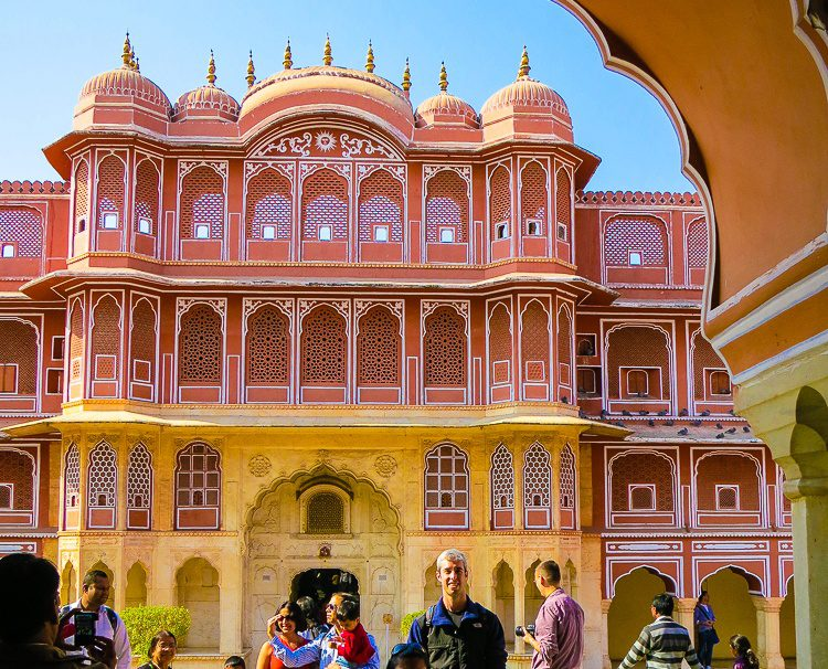 Enter the City Palace of Jaipur, India for amazing doors!