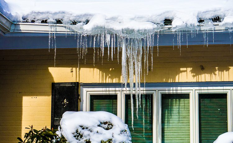 Icicles are frozen time...